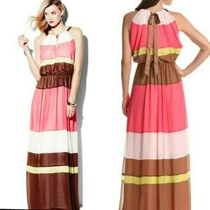 Vince Camuto Colorblock Maxi Dress